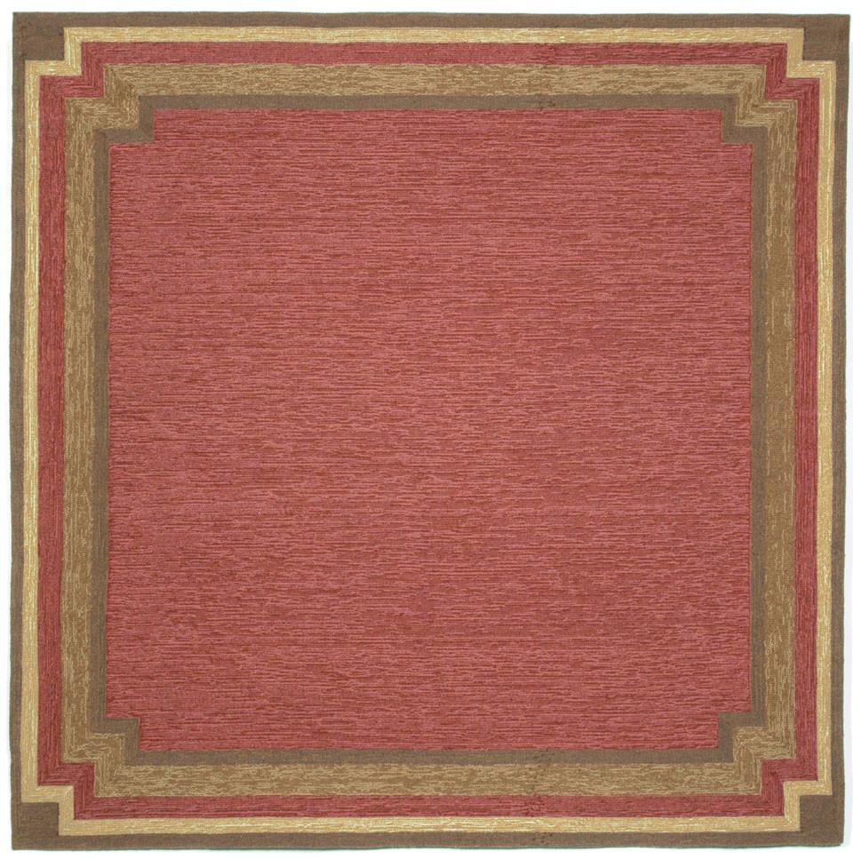 Trans-Ocean Imports RVLS8190524 Ravella Collection Red Finish Everywear Rug from Trans-Ocean