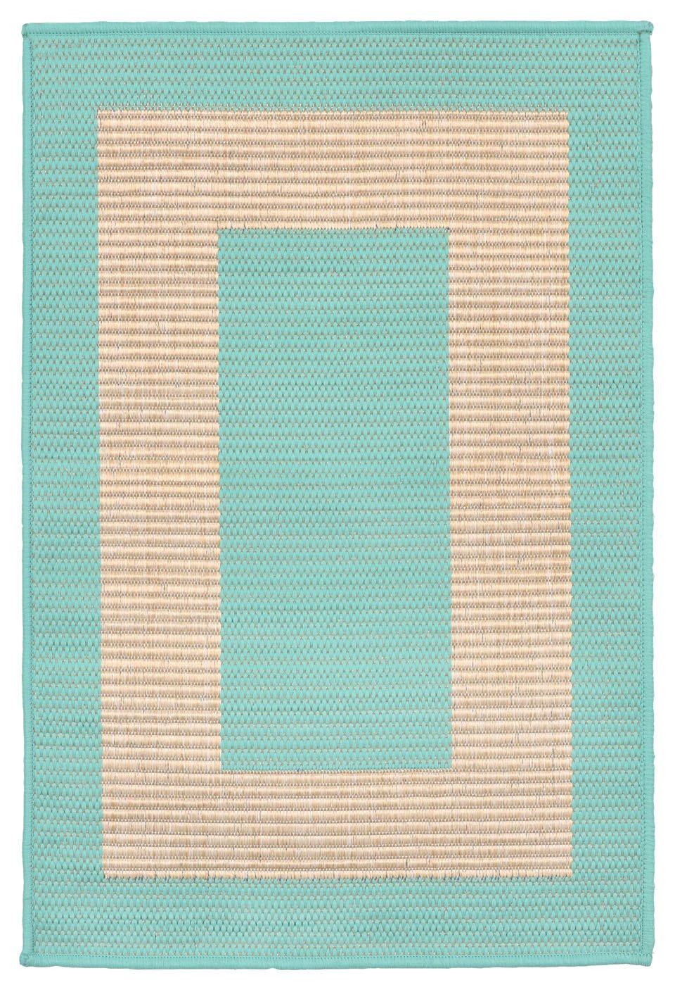 Trans-Ocean Imports TER23178693 Terrace Collection Blue Finish Everywear Rug from Trans-Ocean