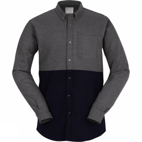 Mens Banff Colorblock Wool Shirt from United By Blue