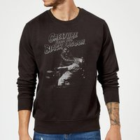Universal Monsters Creature From The Black Lagoon Black and White Sweatshirt - Black - M - Black from Universal Monsters