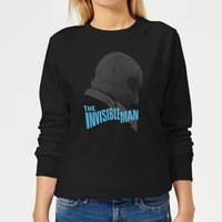 Universal Monsters The Invisible Man Greyscale Women's Sweatshirt - Black - L - Black from Universal Monsters