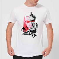 Universal Monsters The Mummy Collage Men's T-Shirt - White - XXL - White from Universal Monsters