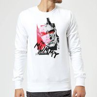Universal Monsters The Mummy Collage Sweatshirt - White - L - White from Universal Monsters