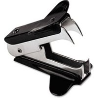 Jaw Style Staple Remover, Black, 3 per Pack from Universal