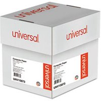 Multicolor Computer Paper, 3-Part Carbonless, 15lb, 9-1/2 x 11, 1200 Sheets from Universal