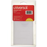 Removable Self-Adhesive Multi-Use Labels, 1 x 3, White, 250/Pack from Universal