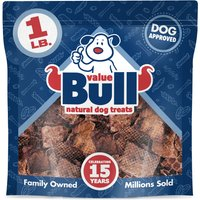 ValueBull Dog Treats, Beef Lung Wafers, 1 Pound from ValueBull