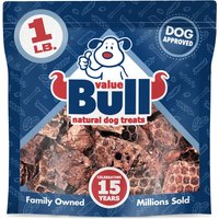 ValueBull Dog Treats, Lamb Lung Wafers, 1 Pound from ValueBull