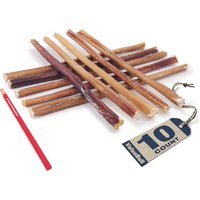ValueBull Odor-Free 12 Inch Regular / Thin Bully Sticks for Dogs, 10 Count from ValueBull