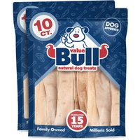 ValueBull Dog Treats, Beef Hide Strips, 12 Inch, 20 Count from ValueBull