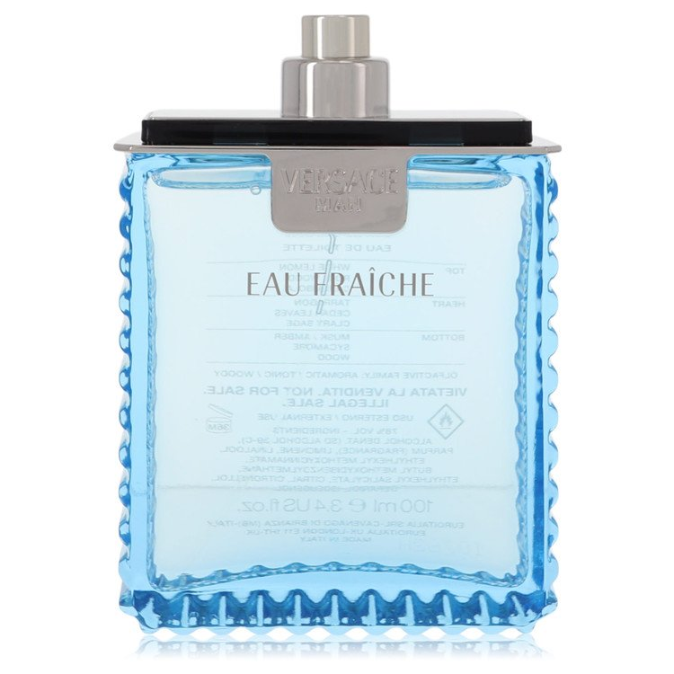 Versace Man Cologne 3.4 oz Eau Fraiche EDT Spray (Tester) for Men from Versace