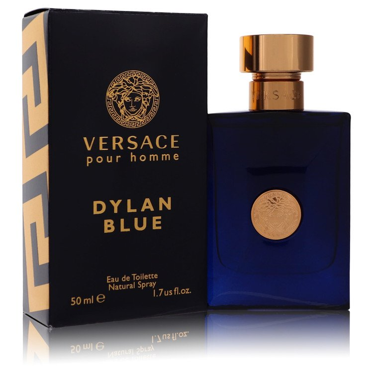 Versace Pour Homme Dylan Blue Cologne 1.7 oz EDT Spay for Men from Versace