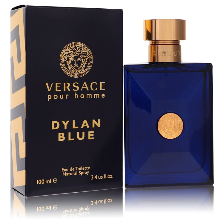 Versace Pour Homme Dylan Blue Cologne 3.4 oz EDT Spay for Men from Versace