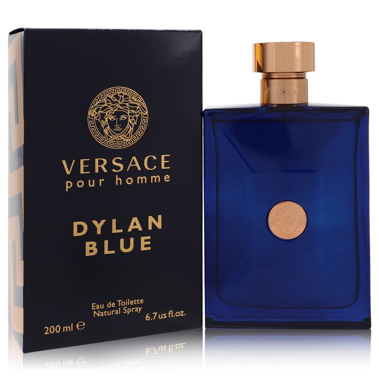 Versace Pour Homme Dylan Blue Cologne 6.7 oz EDT Spay for Men from Versace