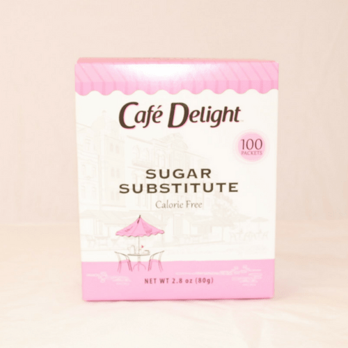 Cafe Delight (sweet thing) Sugar Substitute - Pink Sweetener Packets - 100ct Box **PINK BOX** from Vistar