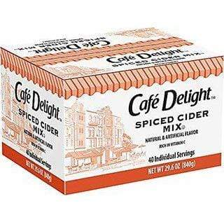 Cafe Delight Spiced Apple Cider - Single Serving Packets - 40ct Box, 40ct Box from Vistar