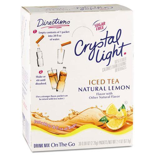 Crystal Light Drink Mix - Iced Tea (with Lemon) - On The Go Sticks - 30ct from Vistar