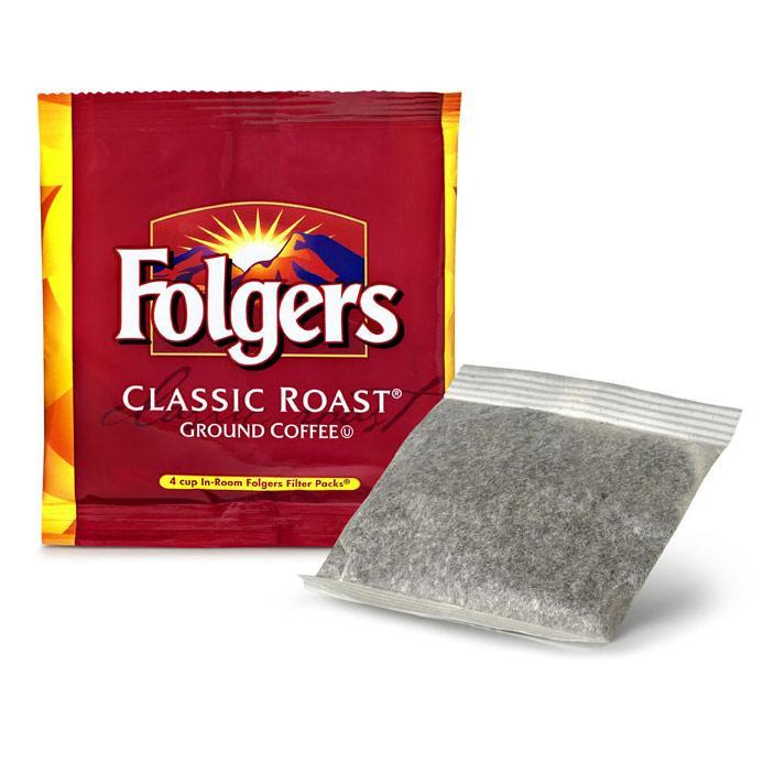 Folgers Coffee - Room Service REGULAR - 200/0.60oz Filter Pack - 4 Cup from Vistar