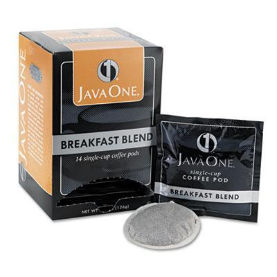 Java One Coffee Pods - Breakfast Blend, Case of 6 Boxes from Vistar