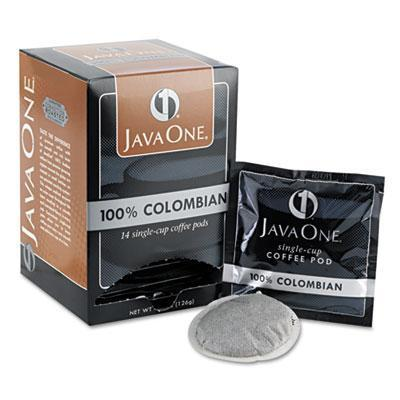 Java One Coffee Pods - Colombian, Case of 6 Boxes from Vistar