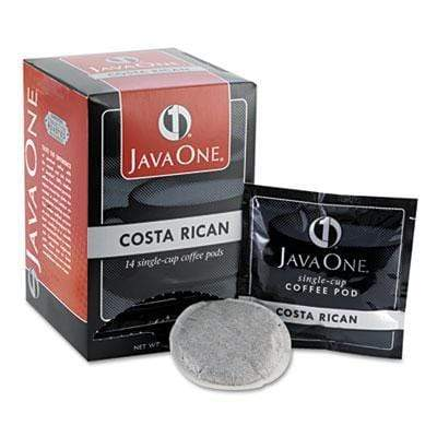 Java One Coffee Pods - Costa Rican, 14ct Box from Vistar