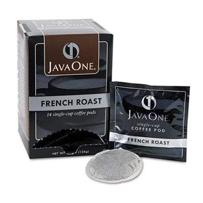 Java One Coffee Pods - French Roast, 14 Pods Per Box from Vistar