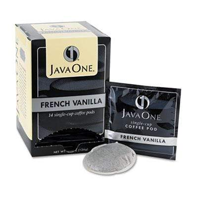 Java One Coffee Pods - French Vanilla, 14ct Box from Vistar