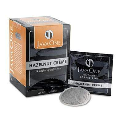 Java One Coffee Pods - Hazelnut Creme, 14 Count Box from Vistar