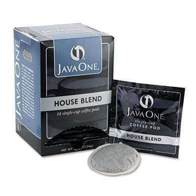 Java One Coffee Pods - House Blend, 14ct Box from Vistar