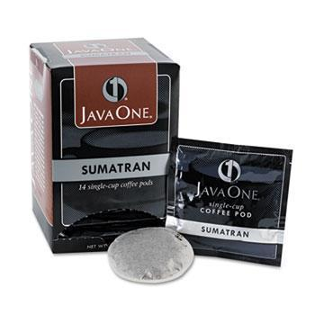 Java One Coffee Pods - Sumatran, Case of 6 Boxes from Vistar