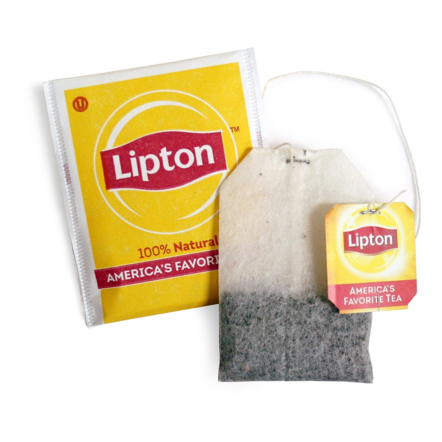 Lipton Tea Bags - 100% Natural, Regular - 100ct Box, Cases of 10 Boxes from Vistar