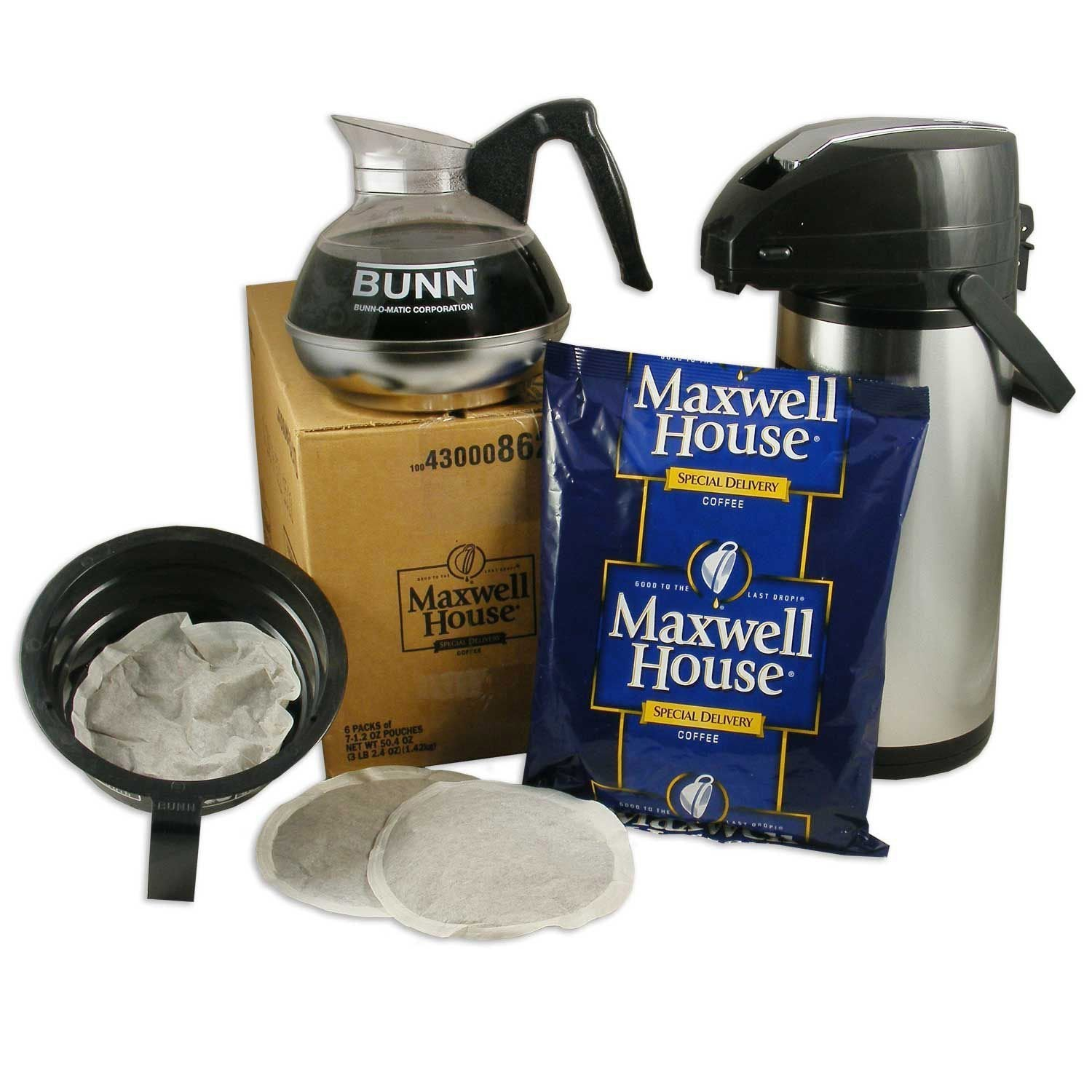 Maxwell House Coffee - Special Delivery - 12 Cup Filter Pack - 42. 1.2oz. Packages from Vistar