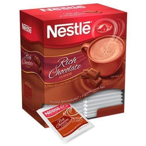 Nestle Rich Chocolate Hot Cocoa Mix 50 Count Box, Case 6/50 Count Boxes from Vistar