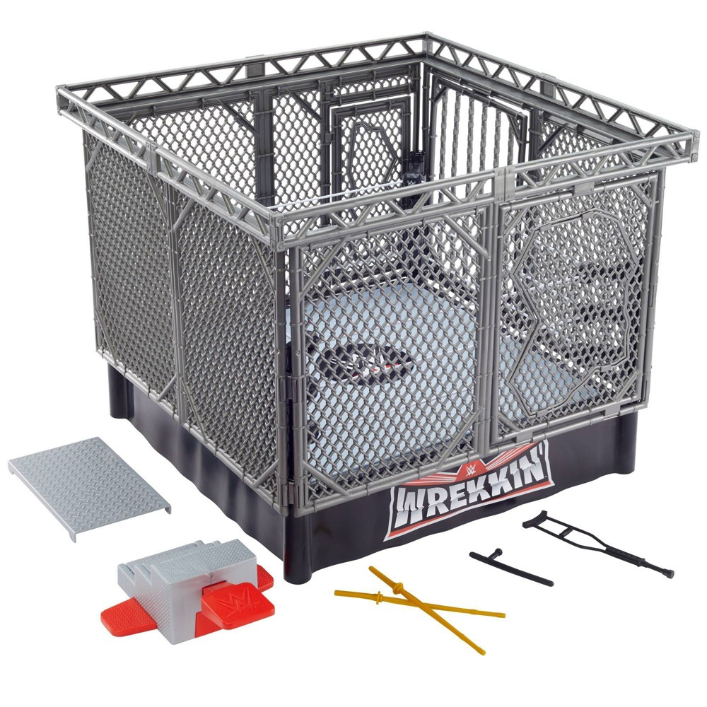 WWE Wrekkin' Collision Cage Playset from WWE