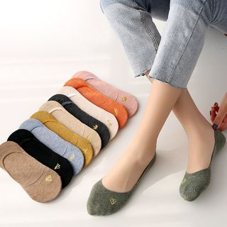 Multi-Color Low-Cut Socks from Wandy
