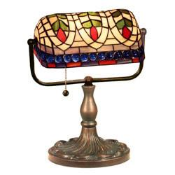 Tiffany Style Art Glass Desk Lamp by Warehouse of Tiffany KS20 MB50 from Warehouse of Tiffany