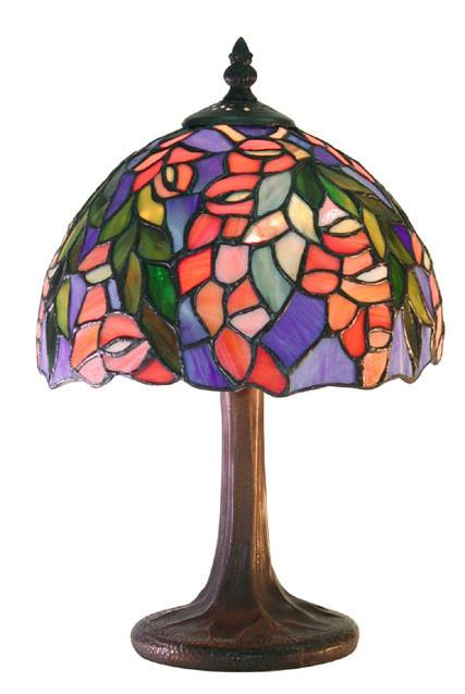 Tiffany Style Floral Table Lamp by Warehouse of Tiffany M23 SB21 from Warehouse of Tiffany