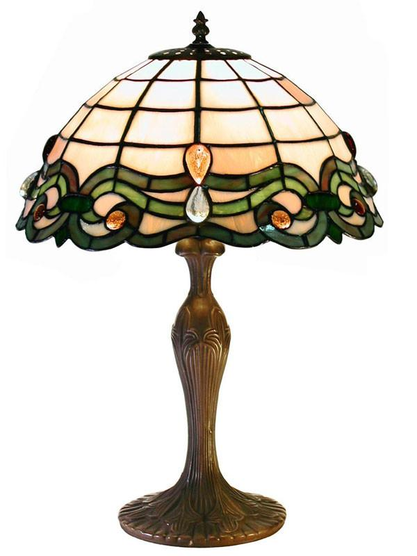 Tiffany Style Simple Table Lamp by Warehouse of Tiffany 2464 MB09 from Warehouse of Tiffany