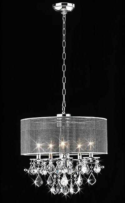 Warehouse of Tiffany RL5634 Isabelle Crystal Chandelier from Warehouse of Tiffany