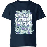 We've Got A Mystery To Solve! Kids' T-Shirt - Navy - 9-10 Years - Navy from Warner