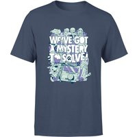 We've Got A Mystery To Solve! Men's T-Shirt - Navy - XL - Navy from Warner