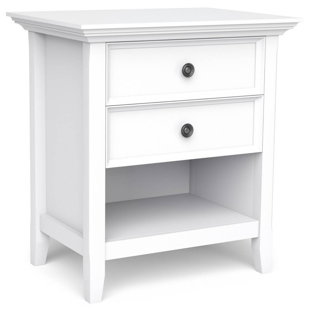"24"" Halifax Side Table White - WyndenHall from WyndenHall"