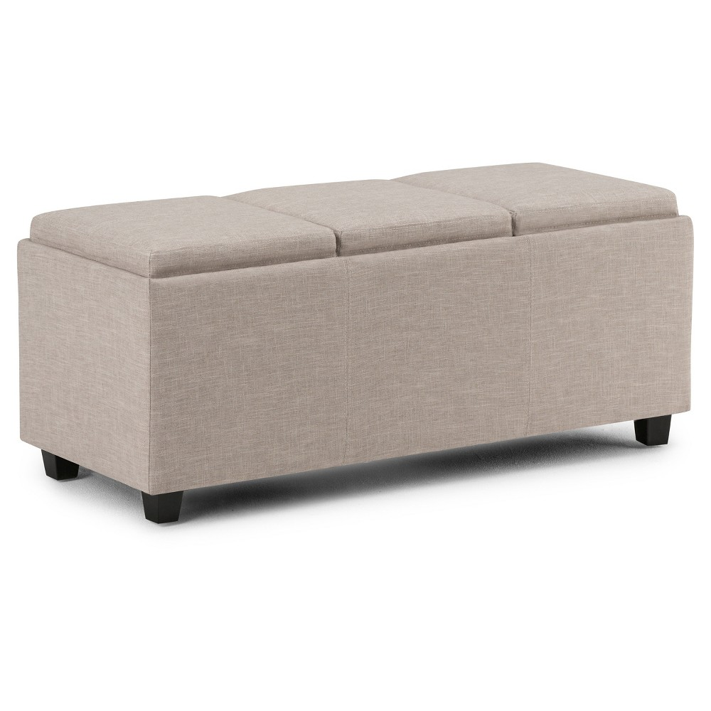 Franklin Storage Ottoman Natural - WyndenHall from WyndenHall