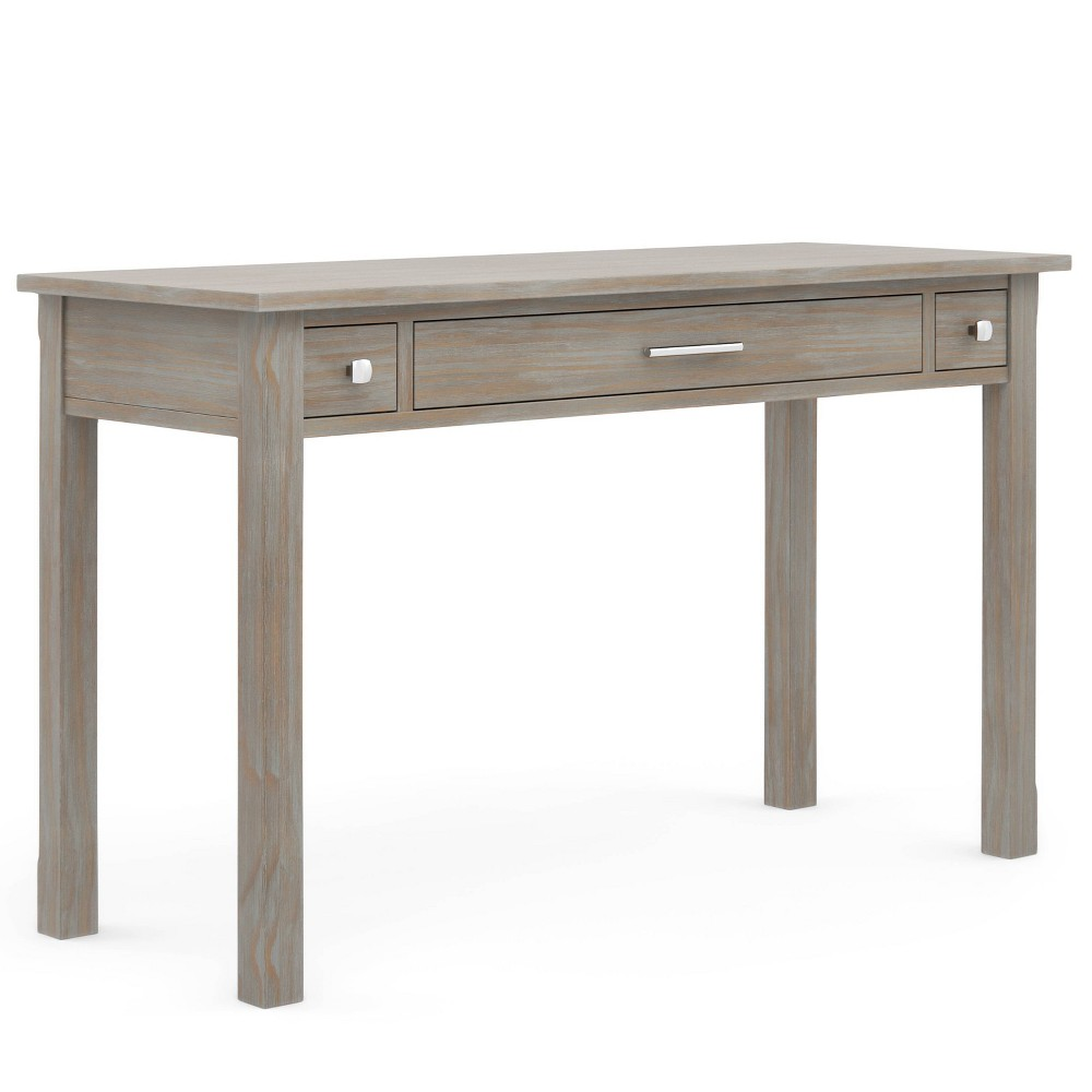 Franklin Writing Office Desk Distressed Gray - WyndenHall from WyndenHall