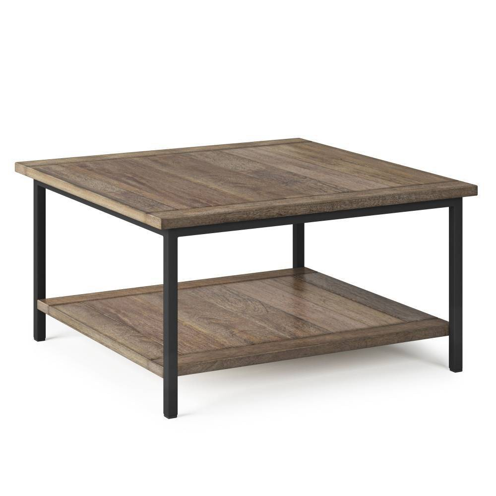 Rhonda Square Coffee Table Beach Brown - WyndenHall from WyndenHall