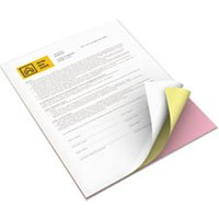 Revolution Digital Carbonless Paper, 8 1/2 x 11, Wh/Can/Pink, 5,000 Sheets/CT from Xerox