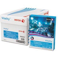 Vitality Multipurpose Printer Paper, 8 1/2 x 11, White, 500 Sheets/RM from Xerox