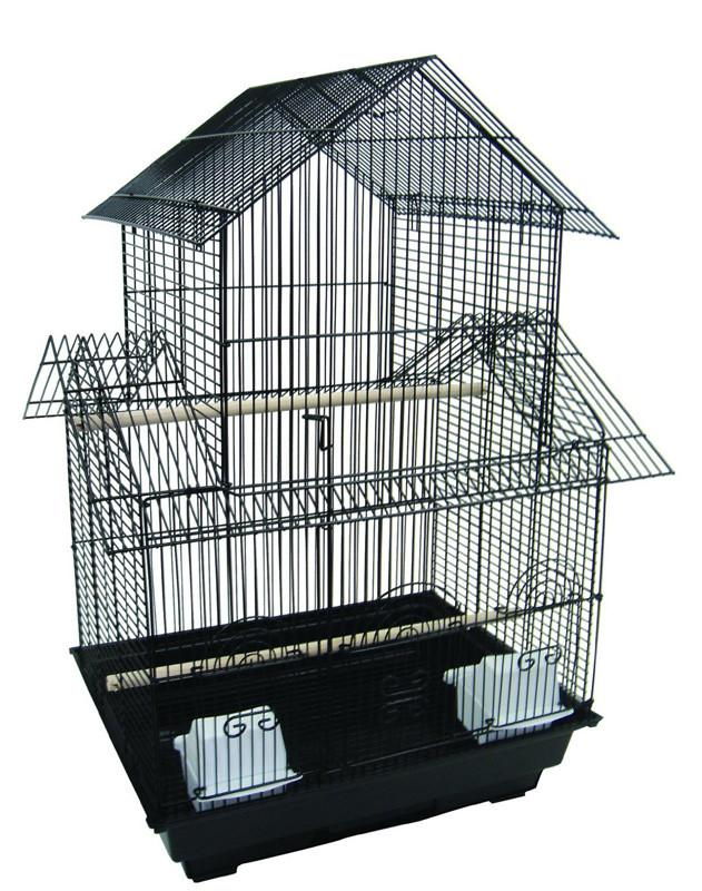 "YML Group 1644BLK 3/8"" Pagoda Top Cage 16x16"", Black from YML Group"