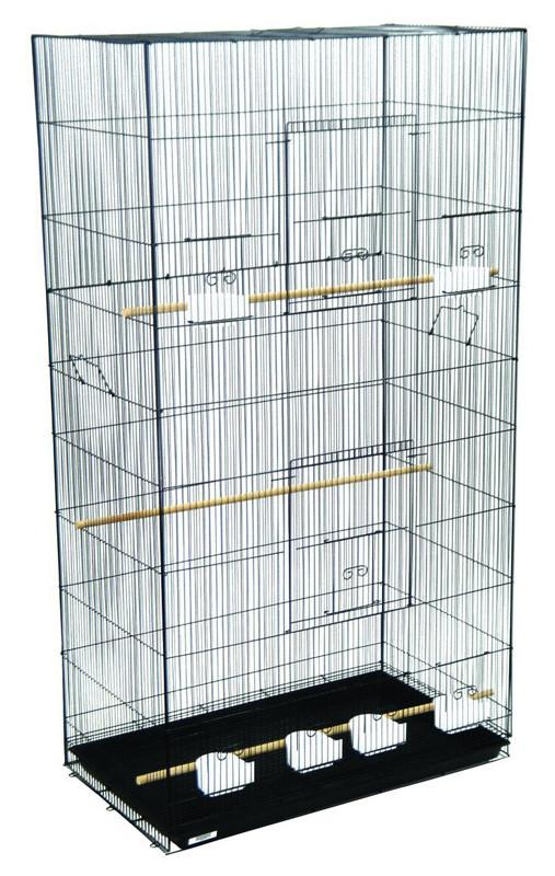 YML Group 3x2494BLK Lot of 3 XLarge Breeding Cages - Black from YML Group