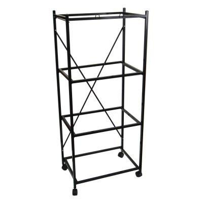 YML Group 4134BLK 4 Shelf Stand for 2424 and 2434, Black from YML Group